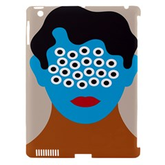 Face Eye Human Apple Ipad 3/4 Hardshell Case (compatible With Smart Cover) by AnjaniArt