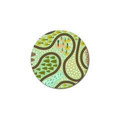 Hilly Roads Golf Ball Marker (10 Pack) by AnjaniArt