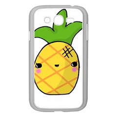 Kawaii Pineapple Samsung Galaxy Grand Duos I9082 Case (white) by CuteKawaii1982