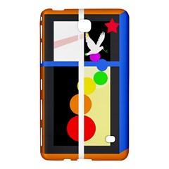 Anarchy  Samsung Galaxy Tab 4 (7 ) Hardshell Case  by Valentinaart
