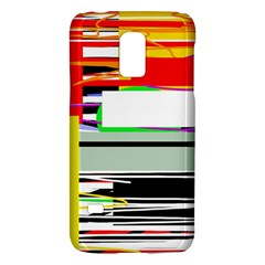 Lines And Squares  Galaxy S5 Mini by Valentinaart
