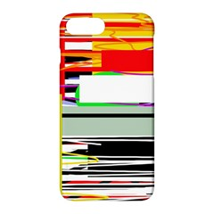Lines And Squares  Apple Iphone 7 Plus Hardshell Case by Valentinaart