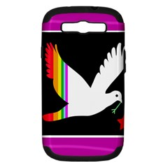 Bird Samsung Galaxy S Iii Hardshell Case (pc+silicone)