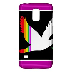 Bird Galaxy S5 Mini by Valentinaart
