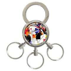 Champion 3 Ring Key Chains by Valentinaart