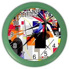 Champion Color Wall Clocks by Valentinaart