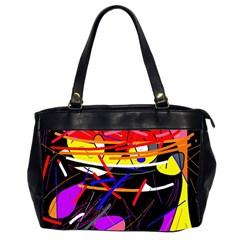 Revolution Office Handbags (2 Sides)  by Valentinaart