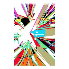 Colorful Big Bang Shower Curtain 48  X 72  (small)  by Valentinaart