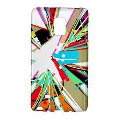 Colorful Big Bang Galaxy Note Edge by Valentinaart