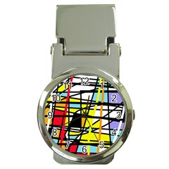 Casual Abstraction Money Clip Watches by Valentinaart