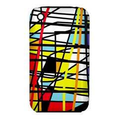 Casual Abstraction Iphone 3s/3gs by Valentinaart