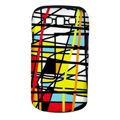Casual Abstraction Samsung Galaxy S Iii Classic Hardshell Case (pc+silicone) by Valentinaart