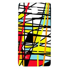 Casual Abstraction Galaxy Note 4 Back Case by Valentinaart