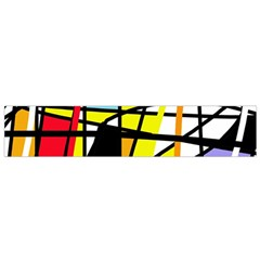 Casual Abstraction Flano Scarf (small) by Valentinaart