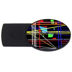 No Limit Usb Flash Drive Oval (4 Gb)  by Valentinaart