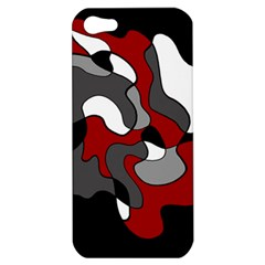 Creative Spot   Red Apple Iphone 5 Hardshell Case by Valentinaart