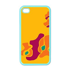 Colorful Creativity Apple Iphone 4 Case (color) by Valentinaart