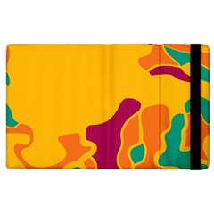 Colorful Creativity Apple Ipad 2 Flip Case by Valentinaart