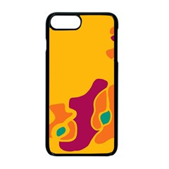 Colorful creativity Apple iPhone 7 Plus Seamless Case (Black) by Valentinaart