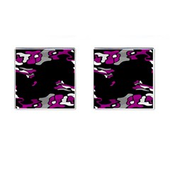 Magenta Creativity  Cufflinks (square) by Valentinaart