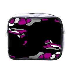 Magenta Creativity  Mini Toiletries Bags by Valentinaart