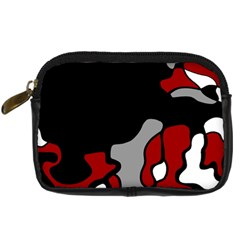 Red Creativity 2 Digital Camera Cases by Valentinaart