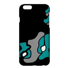Cyan Creativity 2 Apple Iphone 6 Plus/6s Plus Hardshell Case by Valentinaart