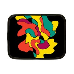 Colorful Spot Netbook Case (small)  by Valentinaart