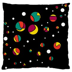Colorful Dots Standard Flano Cushion Case (two Sides) by Valentinaart