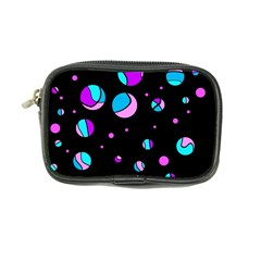 Blue And Purple Dots Coin Purse by Valentinaart