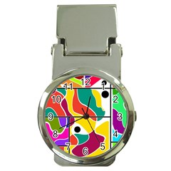 Colorful Windows  Money Clip Watches by Valentinaart