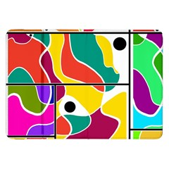 Colorful Windows  Samsung Galaxy Tab 8 9  P7300 Flip Case by Valentinaart