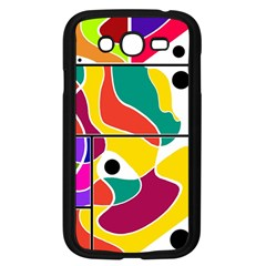 Colorful Windows  Samsung Galaxy Grand Duos I9082 Case (black) by Valentinaart