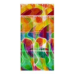 Abstract Sunrise Shower Curtain 36  X 72  (stall)  by Valentinaart