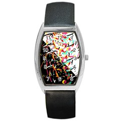 Little Things  Barrel Style Metal Watch by Valentinaart