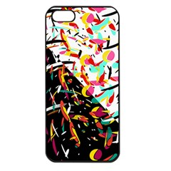 Little Things  Apple Iphone 5 Seamless Case (black) by Valentinaart