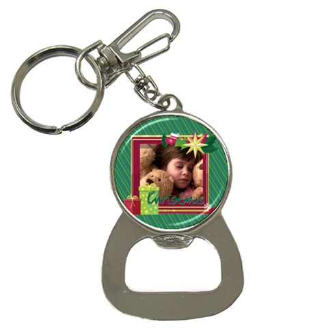 Xmas By 2016   Bottle Opener Key Chain   Sa3zrvaq82ic   Www Artscow Com Front