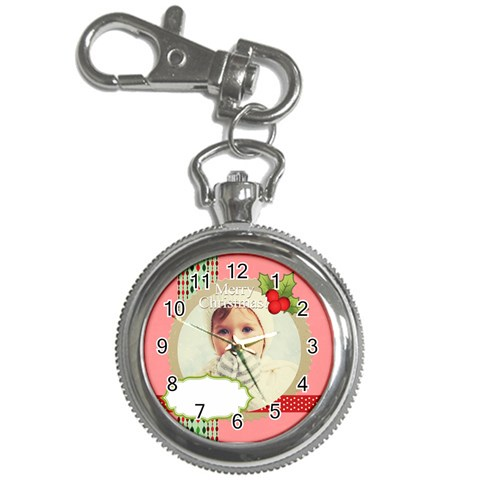 Xmas By 2016   Key Chain Watch   Rev7zic1s60p   Www Artscow Com Front