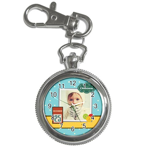 Xmas By 2016   Key Chain Watch   Llzszssspzyy   Www Artscow Com Front