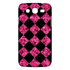 Square2 Black Marble & Pink Marble Samsung Galaxy Mega 5 8 I9152 Hardshell Case  by trendistuff