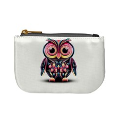 Owl Colorful Mini Coin Purses