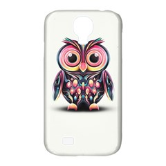 Owl Colorful Samsung Galaxy S4 Classic Hardshell Case (pc+silicone) by AnjaniArt
