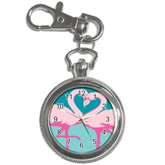 Pink Flamengo Key Chain Watches