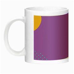 Purple Night Luminous Mugs by AnjaniArt