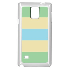 Romantic Flags Samsung Galaxy Note 4 Case (White) by AnjaniArt