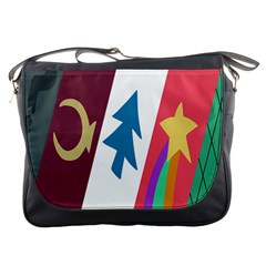 Star Color Messenger Bags by AnjaniArt