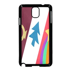 Star Color Samsung Galaxy Note 3 Neo Hardshell Case (black) by AnjaniArt
