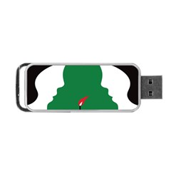 Two Face Portable Usb Flash (two Sides) by AnjaniArt