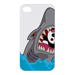 Panda Sharke Blue Sea Apple iPhone 4/4S Premium Hardshell Case