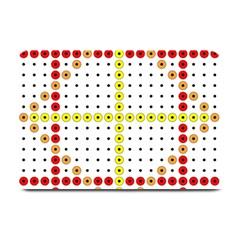 Vertical Horizontal Plate Mats by AnjaniArt